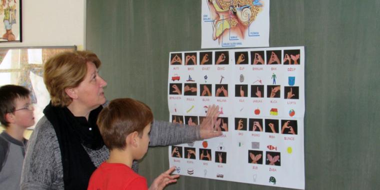 Druženje u Osnovnoj školi Augusta Harambašića