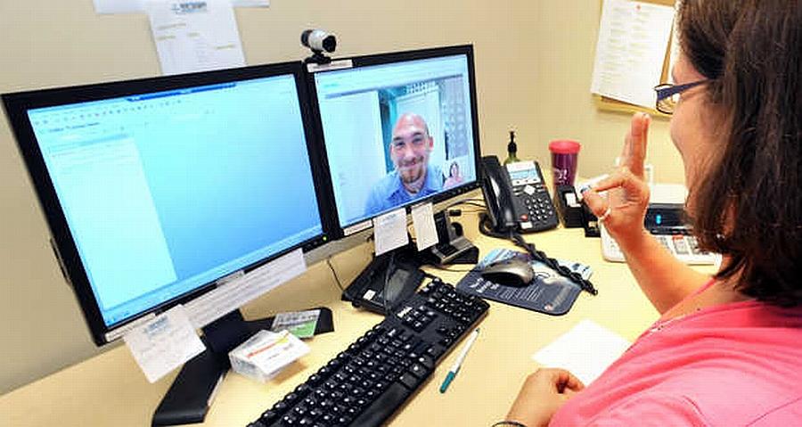 Edukacija – video call centar