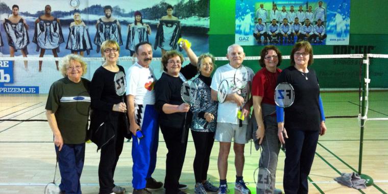 Badminton na Zagrebačkom velesajmu 2014.